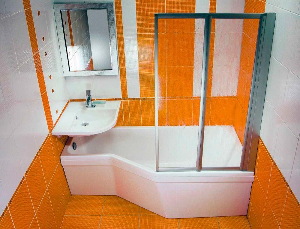 Как сделать душевую маленькая ванная