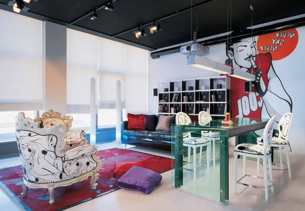 Квартира в стиле поп-арт
