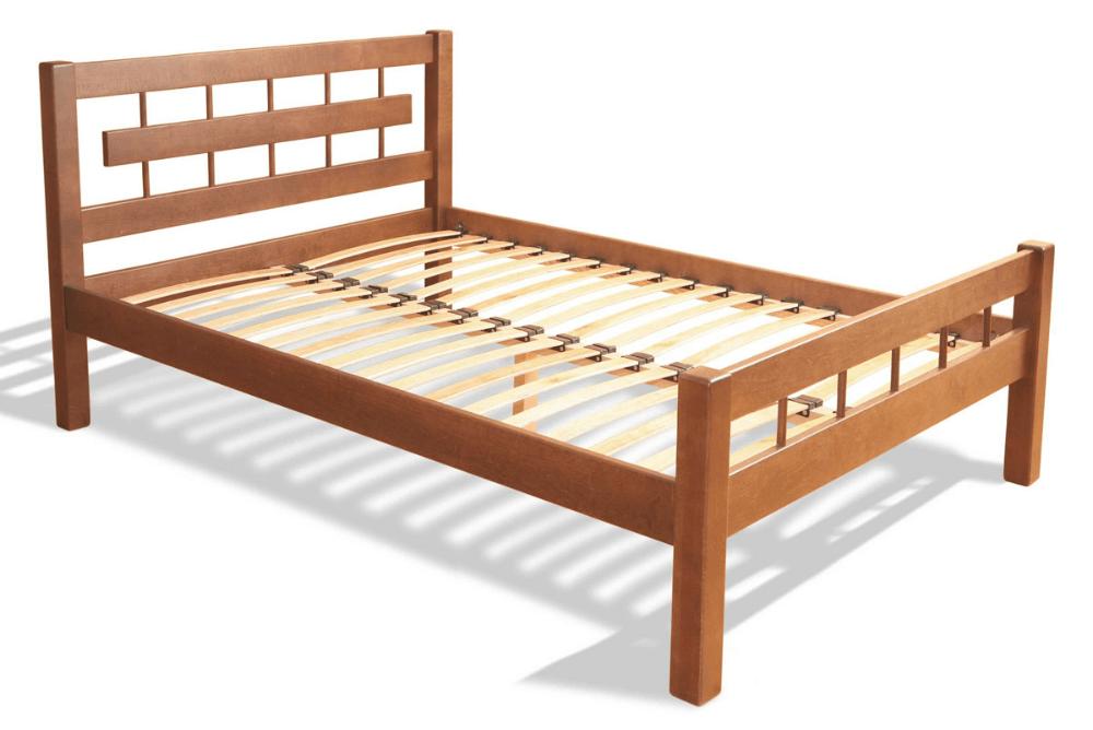 Конструкция кровати без матраса