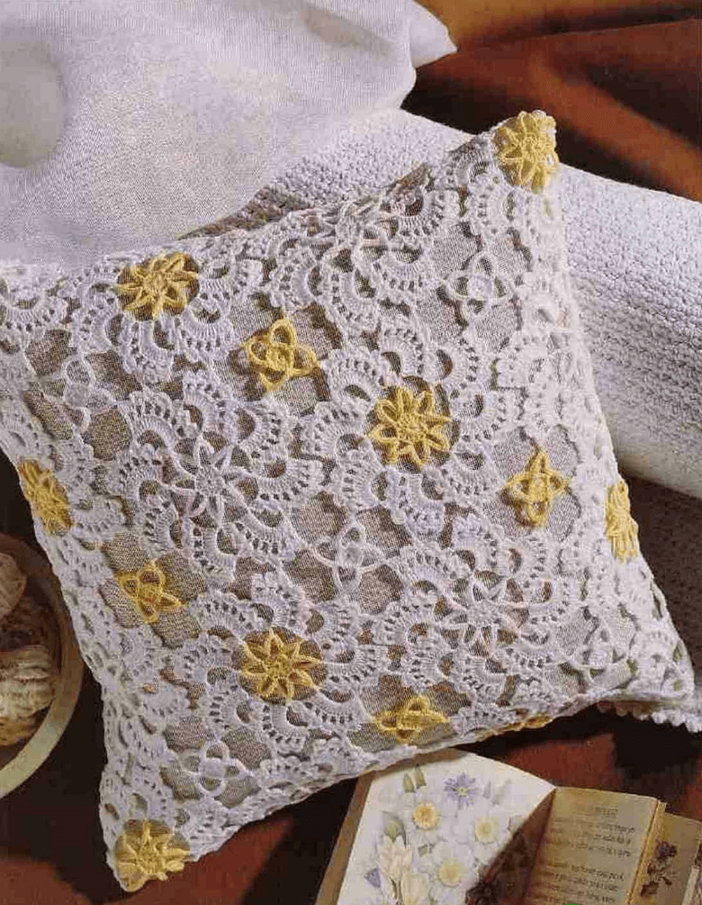 Кружевные чехлы для подушек