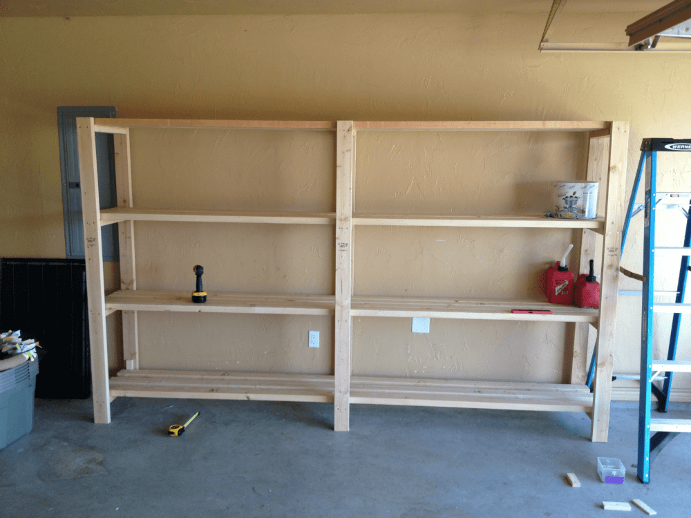Стеллаж для гаража