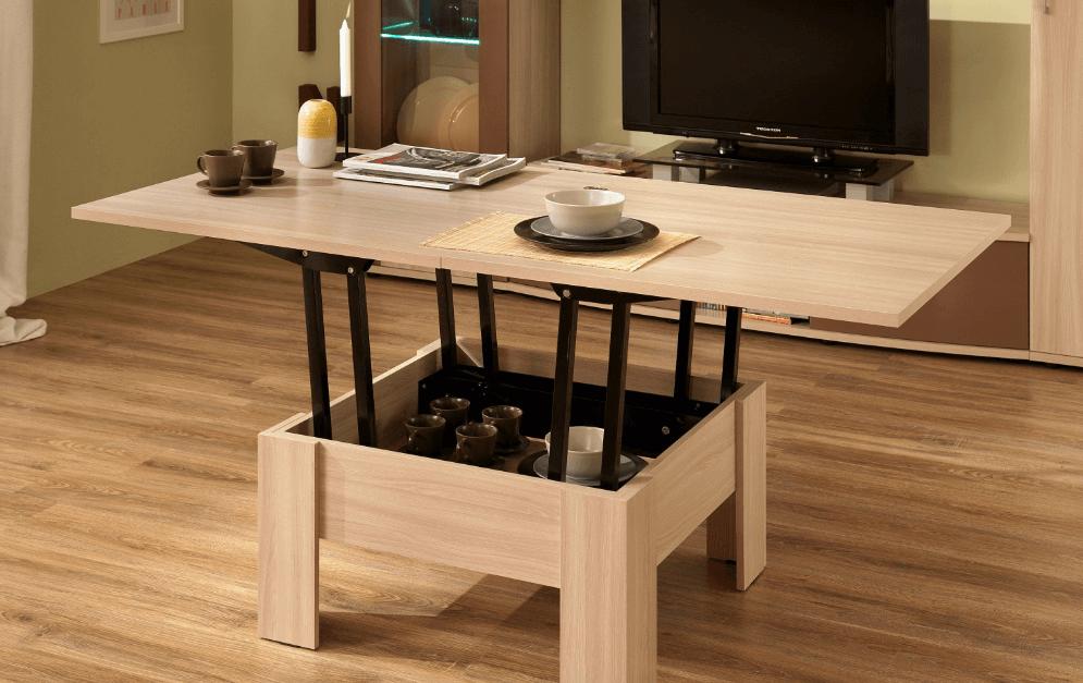 Раздвижной стол в гостиную