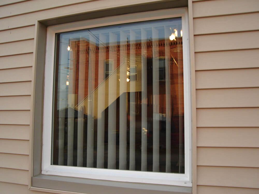 Глухие металлоспластиковые окна