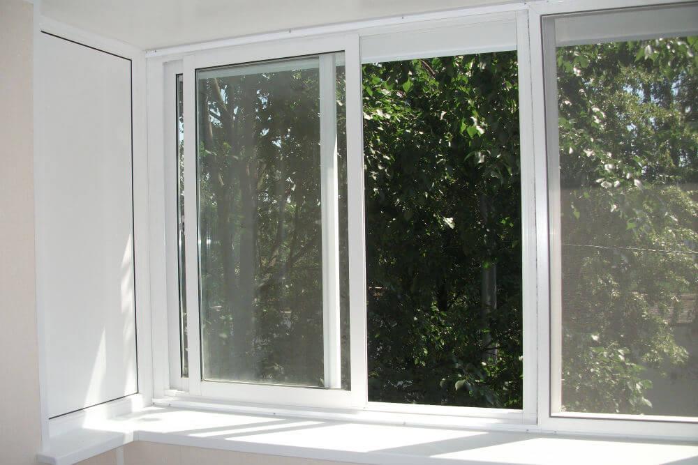 Раздвижные металлопластиковые окна