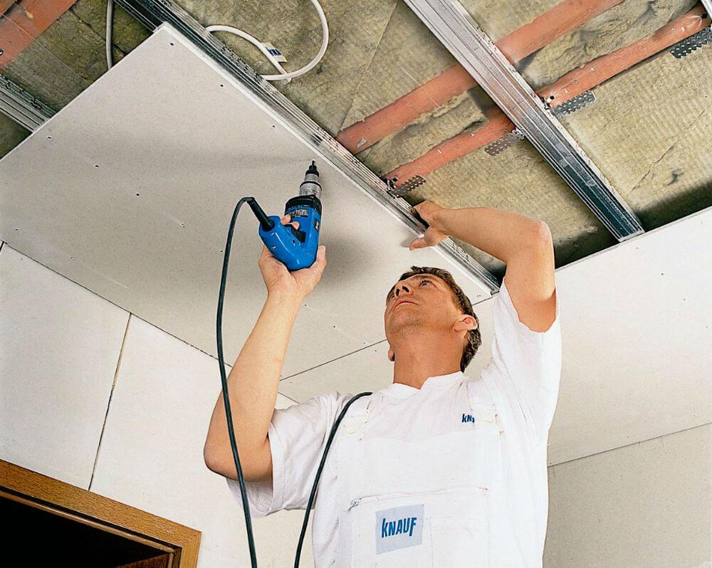 Как сделать подвесной потолок своими руками
