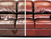 Обивка дивана До и После