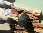 Укладка искусственного камня