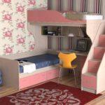 Кровать с письменным столом