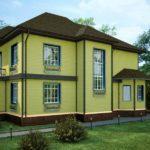 Правильно окрашенный деревянный дом долгие годы будет радовать взгляд