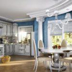Античный дизайн кухни
