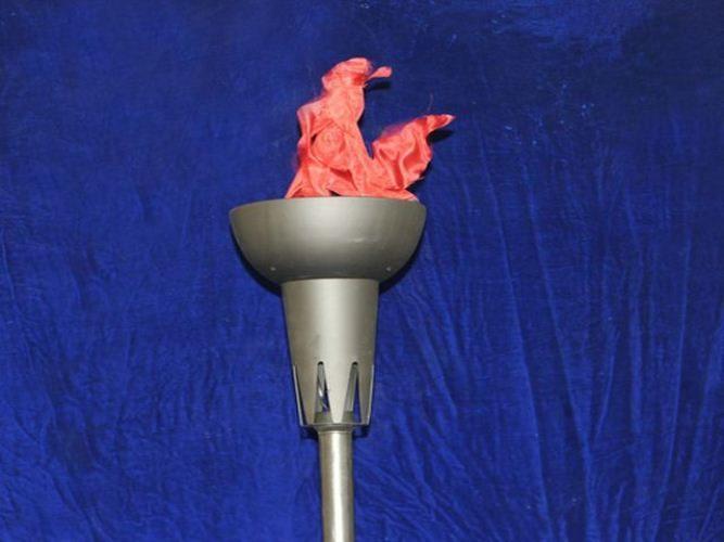 Имитация факела