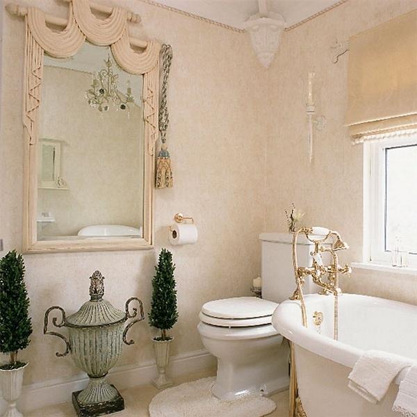 Badezimmer retro stil