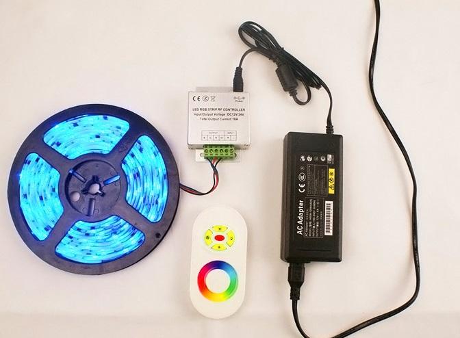 Светодиодные изделия с пультом управления