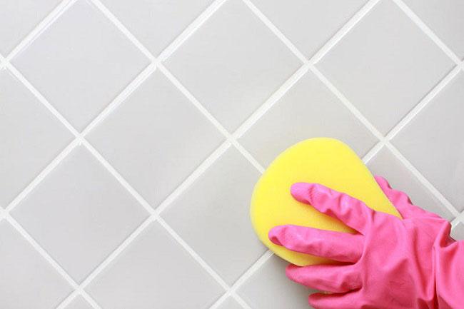 Современную плитку легко отмыть от любых загрязнений