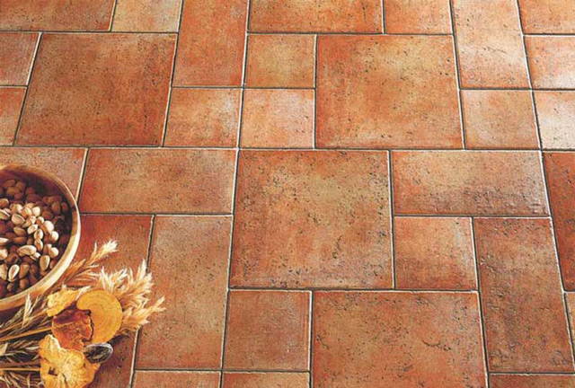 Керамическая плитка может иметь различную форму, цвет и предназначение