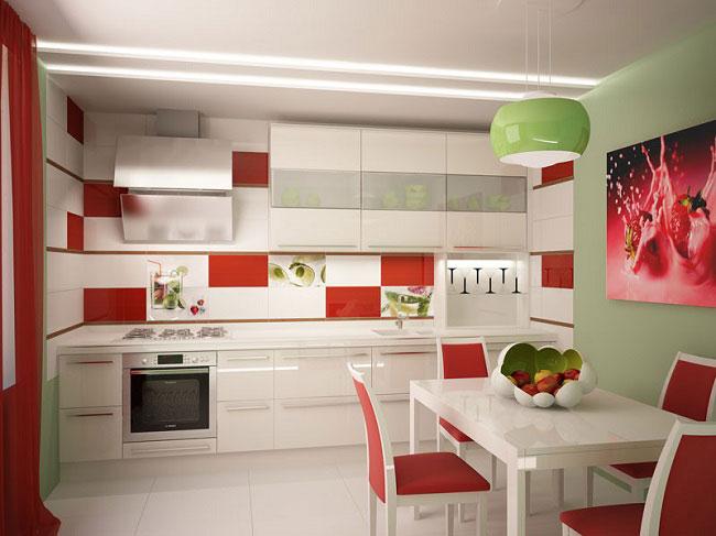 Керамическую плитку для кухни нужно выбирать особенно тщательно