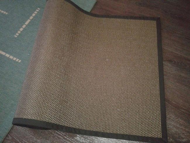 Напольное покрытие шерсть с сизалем