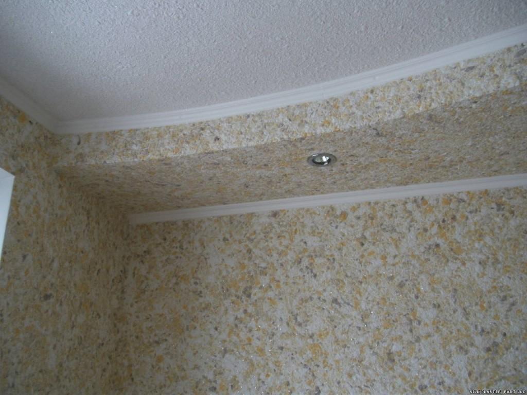 Стеклообои защищают потолок от появления трещин