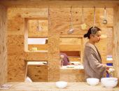 Отделка кирпичных стен фанерой поможет скрыть неровности