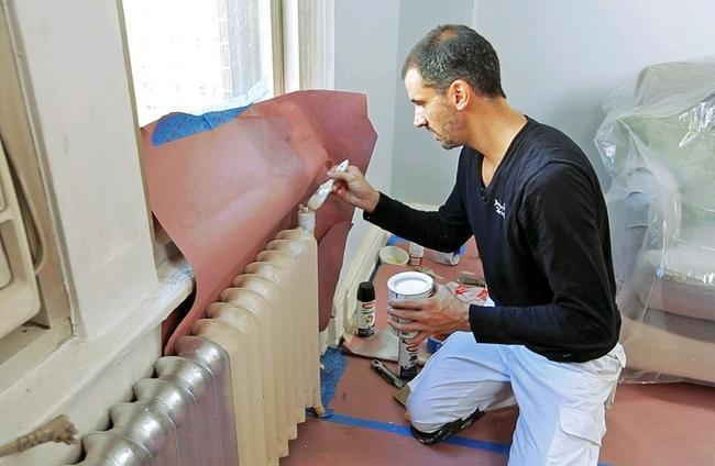 Краска предотвращает коррозию труб и радиаторов