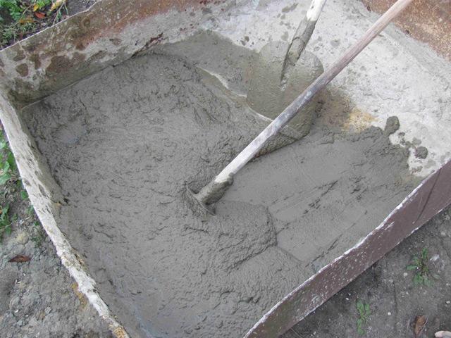 Раствор не должен содержать крупных песчинок