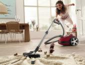 Допускается уборка паркетного пола пылесосом