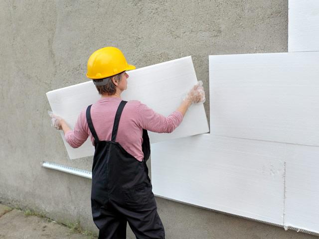Пенопласт — популярный материал для утепления стен снаружи