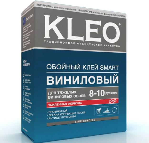 Клей для виниловых обоев от торговой марки Kleo