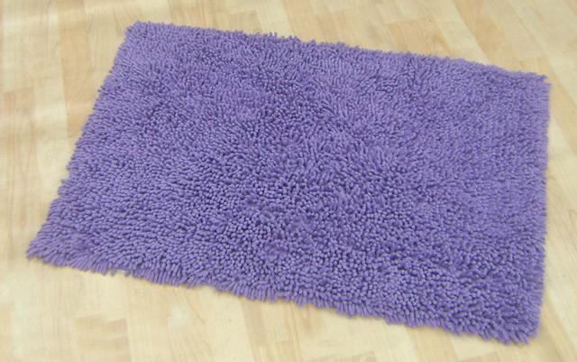 При выборе хлопкового коврика обращайте внимание на длину и плотность ворса