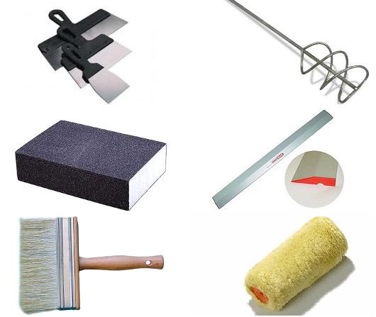 Для работы вам потребуется набор определённых инструментов