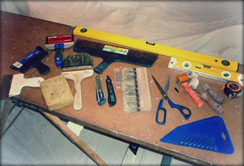 Инструменты лучше подготовить заранее