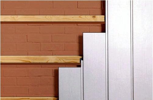 Монтаж панелей на каркас не требует выравнивания стен