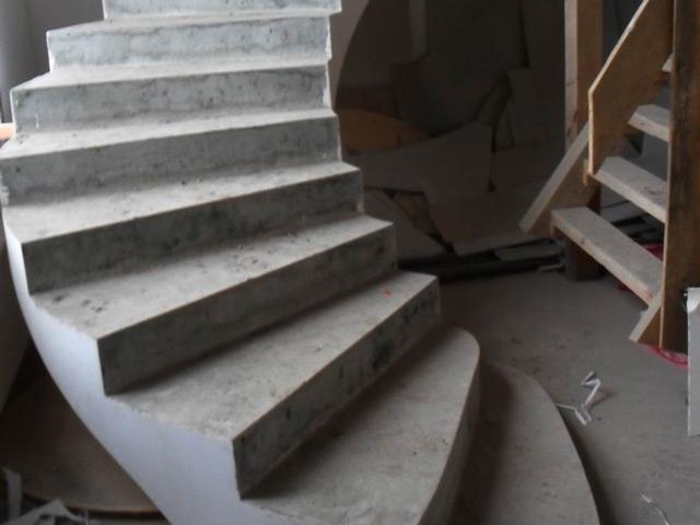 Бетонная лестница должна сочетать в себе надёжность и безопасность