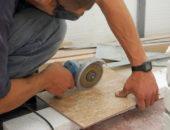 Болгарка поможет справится с толстой плиткой