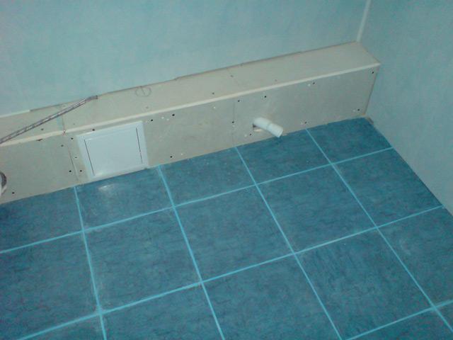 Убедитесь, что старая плитка держится надёжно