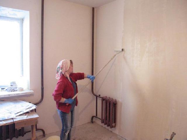 Для нейтрализации старого слоя покрытия необходимо использовать смесь растворителя и грунтовки