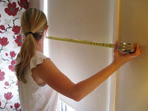 Следует точно измеритьплощадь ваших стен