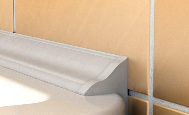 Применение пластиковогоуголка - это практичный и эстетичный вариант герметизации швов
