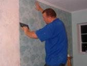 Иногда можно не тратить время на очистку стен и клеить обои на краску