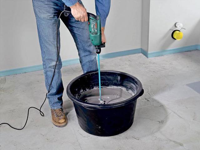 Внешние откосы лучше делать с применением цементного раствора