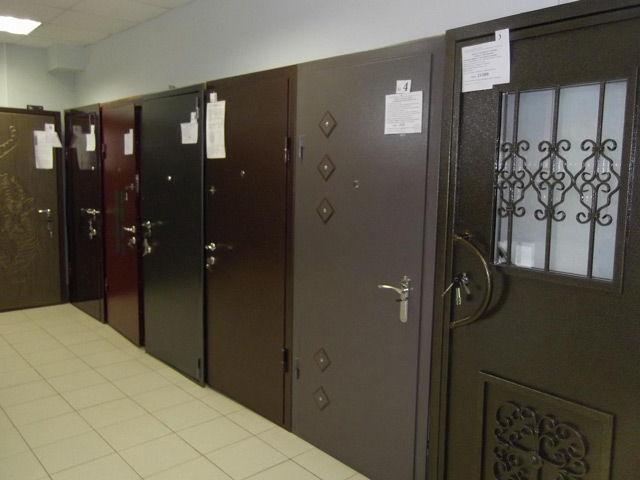 Металлические двери на продаже