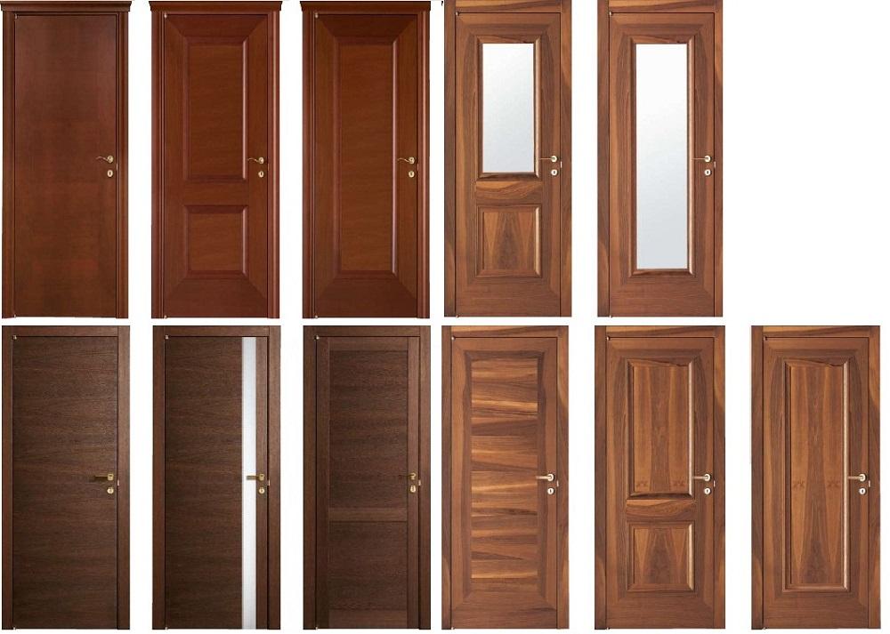 Дерево – классический материал для межкомнатных дверей