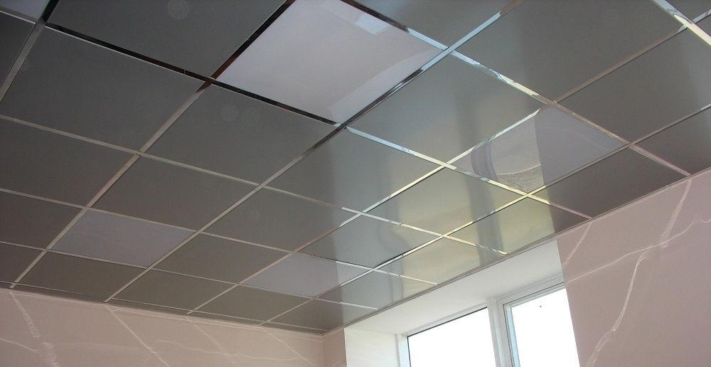 Металлический подвесной потолок – очень практичное и доступное решение