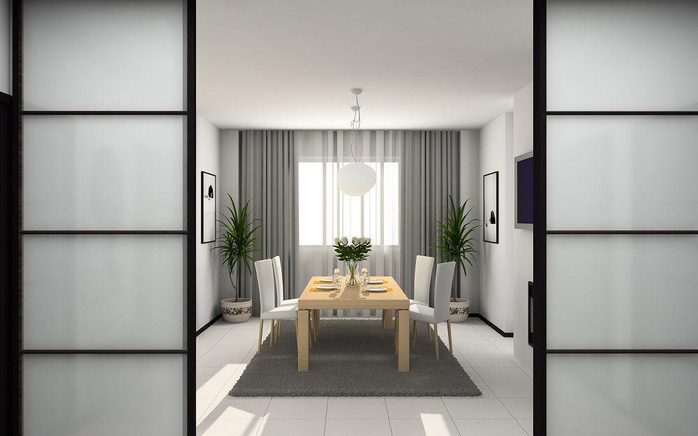 Раздвижные двери выгодно экономят пространство