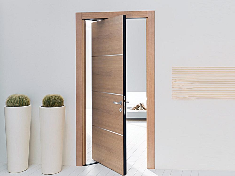 Существует несколько видов дверей по способу их открывания