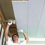Правильное крепление пластиковых панелей на потолок