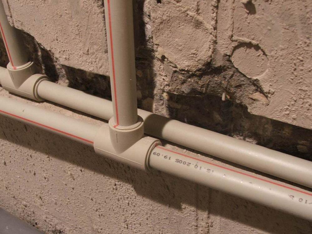 Трубы системы отопления