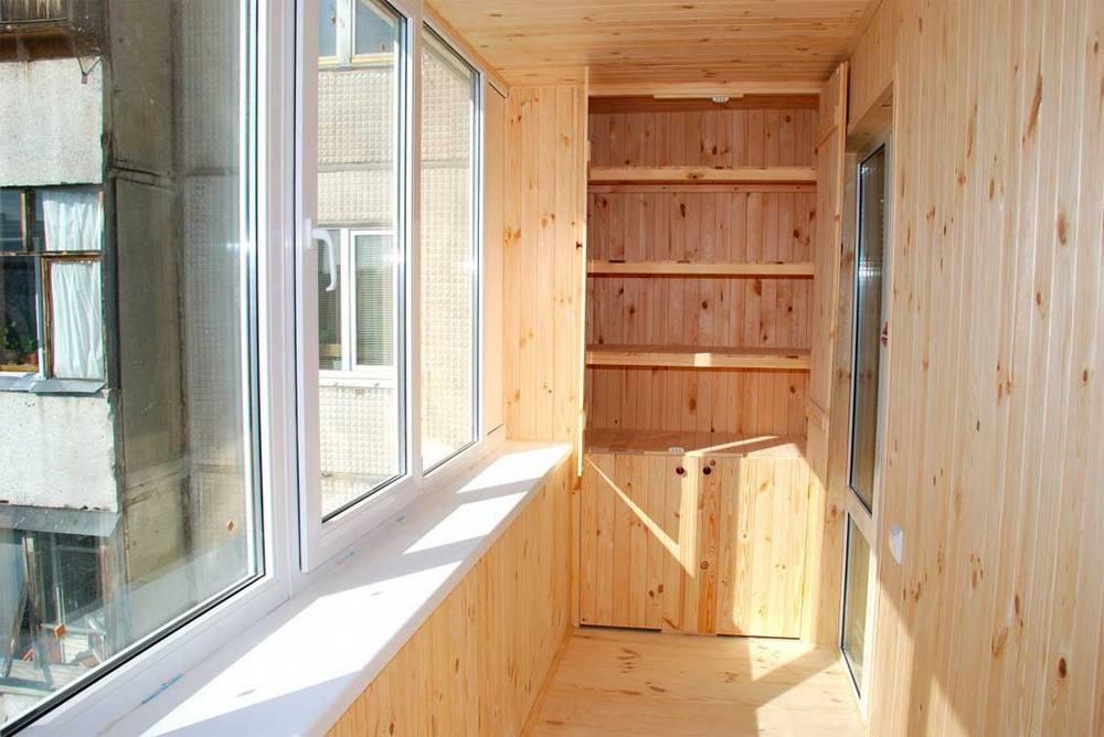 Дизайн балкон кладовка