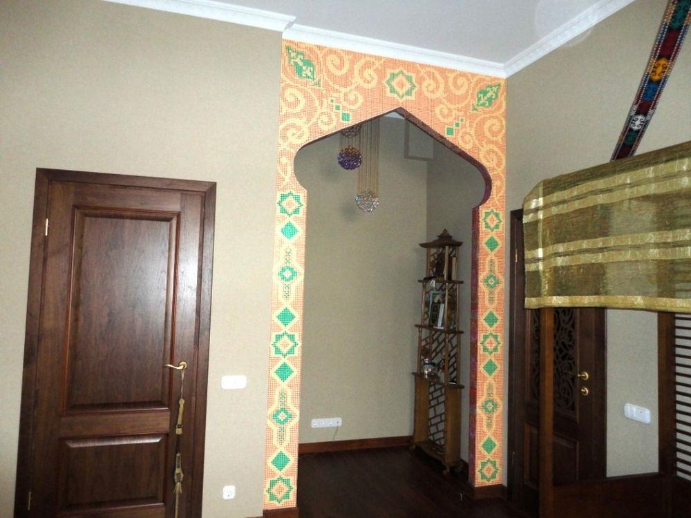 Как декорировать арку