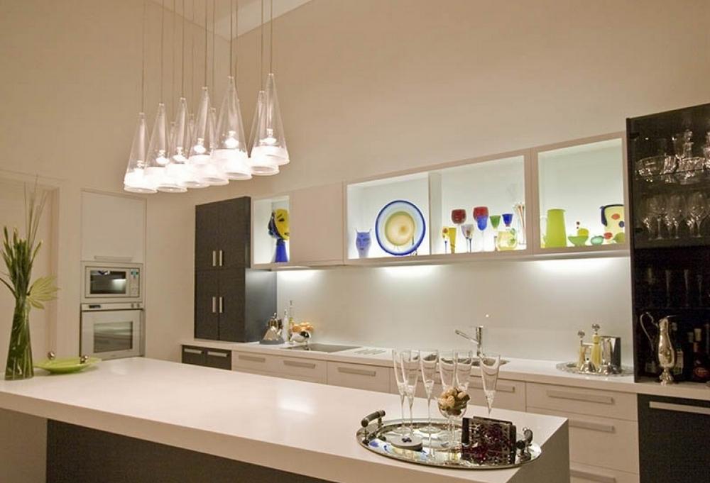 Освещение кухонного потолка
